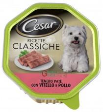 CESAR VASCHETTA PATE CON VITELLO E POLLO RICETTE CLASSICHE GR. 150
