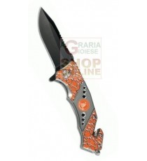 CROSSNAR COLTELLO CHIUDIBILE LAMA BLOCCANTE CM. 8