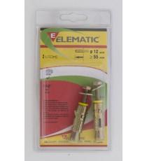 ELEMATIC BLISTER TASSELLI EFPM/B 6 PZ. 2