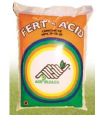 FERT-ACID concime per fertirrigazione N.P.K. 20.20.20 con microelementi kg. 25
