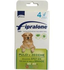 Fipralone antiparassitario pulci e zecche spot-on cane 20 - 40 kg pipette 4