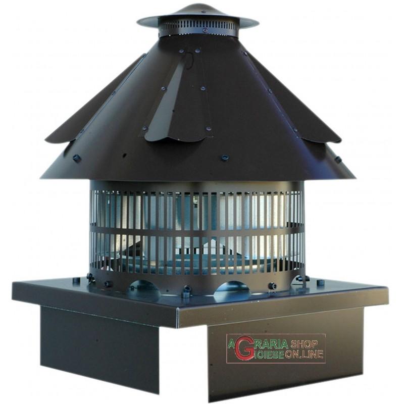 Fumaiolo aspiratore elettrico per camino terminale da for Braciere elettrico per camino