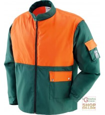 GIACCA 65% POLIESTERE 35% COTONE USO FORESTALE  EN 381 11  TG  S M L XL XXL