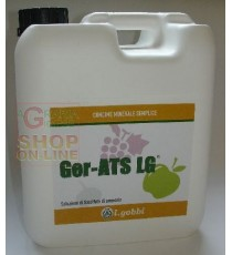 GOBBI GER-ATS CONCIME MINERALE AZOTATO AD ALTO ELEVATO TITOLO IN ZOLFO KG. 6,7