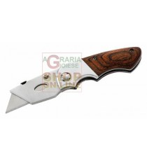 HERBERTZ COLTELLO CUTTER CHIUDIBILE CON LAME INTERCAMBIABILI MOD. 216309