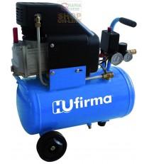 HUFIRMA COMPRESSORE 230V HUCAF-24L 1 CILINDRO DIRETTO HP. 2 LT. 24