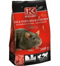 KOLLAN ESCA VELENO TOPICIDA RATTICIDA GRANULARE ROSSO GR. 500