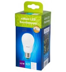 Lampada Goccia Airam Finland a led E27 watt. 6,5 per crescita piante