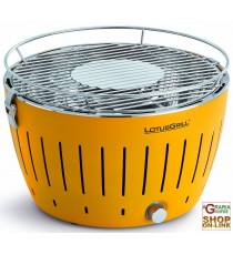LOTUSGRILL LOTUS GRILL BARBECUE DA TAVOLO PORTATILE PER ESTERNO GIALLO YELLOW