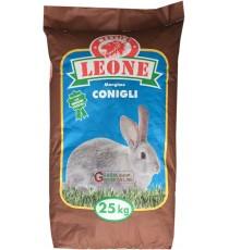 MANGIME CONIGLI CICLO UNICO FATTORIA KG. 25 LEONE