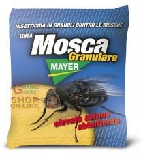 MOSCAMAYER INSETTICIDA GRANULARE CONTRO LE MOSCHE MOSCHICIDA GIALLO GR. 100
