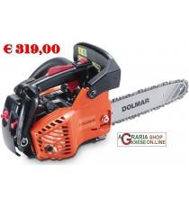 Motosega Dolmar PS311TH a sbrancare ideale per la potatura degli alberi cc. 30,1 barra cm. 30