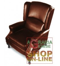 POLTRONA RECLINER MOD. CRIZIA DARK BROWN