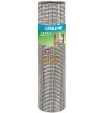 RETE CAVALLINO RABBIT ZINCATA 12,7X12,7 F0,9 MT. 5 H.CM. 100