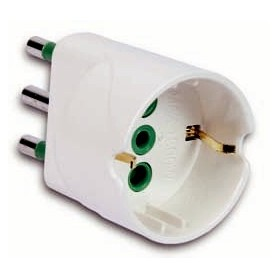 ADAPTER 10A-BEEP FOR SCHUKO SOCKET