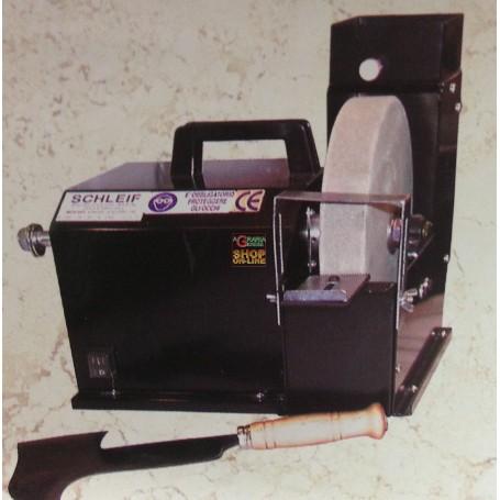 AFFILATRICE ELETTRICA A MOLA AD ACQUA MM. 250 CON ALBERO HP. 1,5