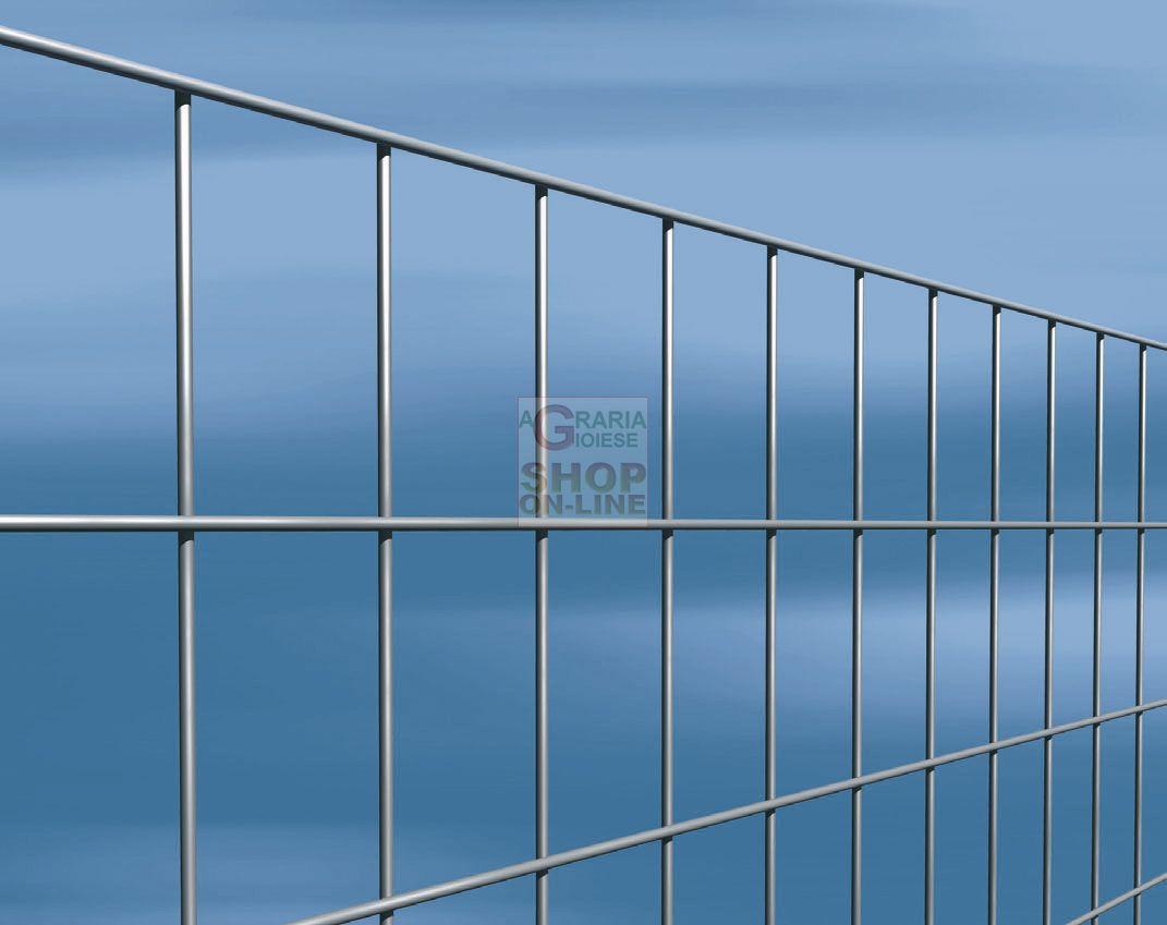 Agrisald rete elettrosaldata per recinzione zincata 50x75 for Rete metallica leroy merlin