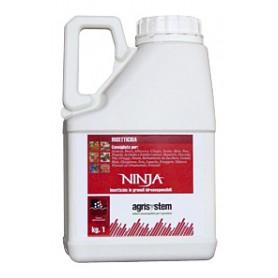AGRISYSTEM NINJA INSETTICIDA A BASE DI LAMBDA CIALOTRINA KG. 1