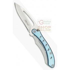 ALPINE FOLDING KNIFE BLADE STAINLESS STEEL CM. 6,5