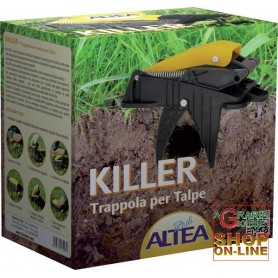 ALTEA KILLER TRAP MECHANICAL FOR MOLES AND VOLES