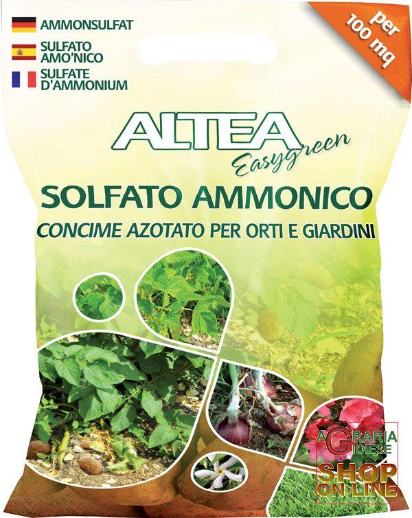 Concime Per Piante Da Frutto : Altea solfato ammonico concime minerale azotato per