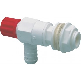 ARAG NEEDLE VALVE WITH HOSE CONNECTION FOR FOOD DIAM. 1/2 M-PTG