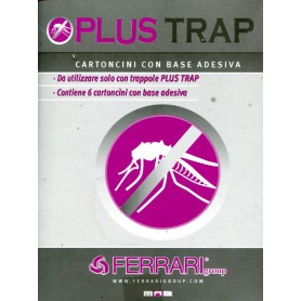ATTRACTIVE CARD STOCK, STICKERS FOR EXTERMINATORS PLUS TRAP