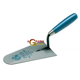 AUSONIA Trowel round point wood handle 20 cm