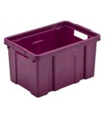 CASSETTA CONTENITORE IN PLASTICA BOXI CM. 39,5X28X23,5 LT. 19