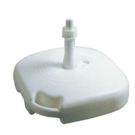 BASE PER OMBRELLONE IN PVC QUADRO CM. 45X45X10