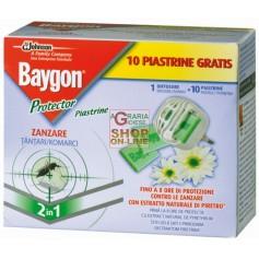 BAYGON DIFFUSORE RAID PROTECTOR NIGHT E DAY ZANZARE BASE CON 10