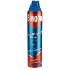 BAYGON INSETTICIDA SPRAY MOSCHE E ZANZARE PLUS ML. 400