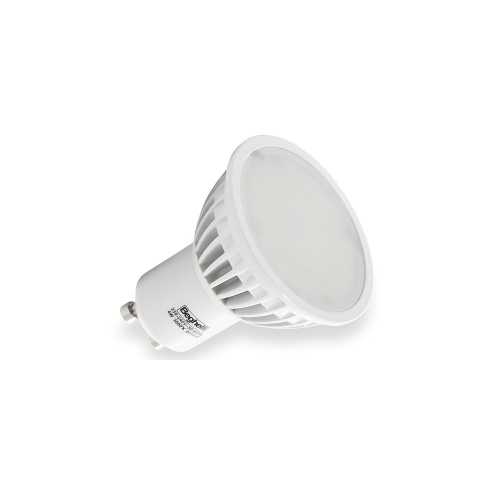 Beghelli lampada a led 56023 spot gu10 4w luce calda for Led luce calda
