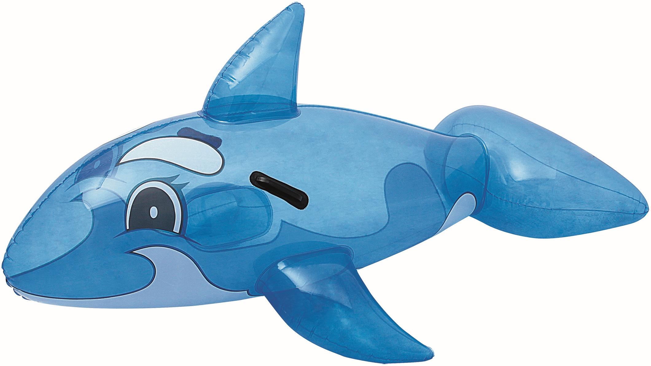 Bestway 41036 delfino gonfiabile gallegiante per piscina for Pesci finti per piscina