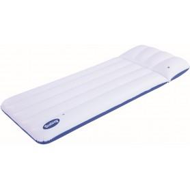 Bestway 43109 Materassino Coolerz Luxury gonfiabile blue bianco cm. 183x71