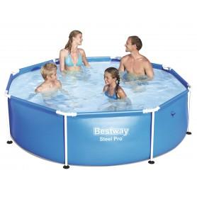 Bestway Steel Pro 2.44m x 61cm Framed pool Rotondo 1724L Blu