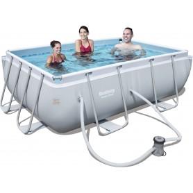 Bestway 56629 piscina con telaio Power Steel Frame cm. 282 x 196 x 84h