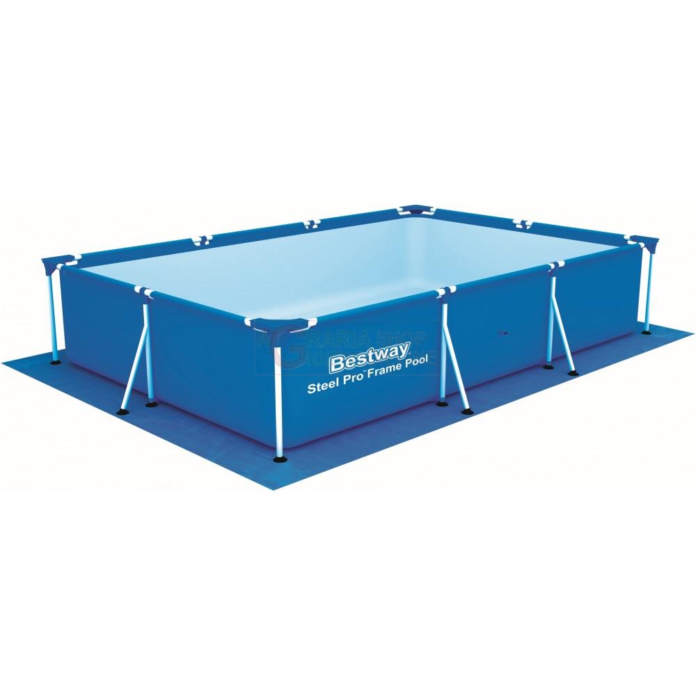 Bestway 58101 tappetino base per piscina rettangolare cm 300x231 - Tappetino per piscina ...
