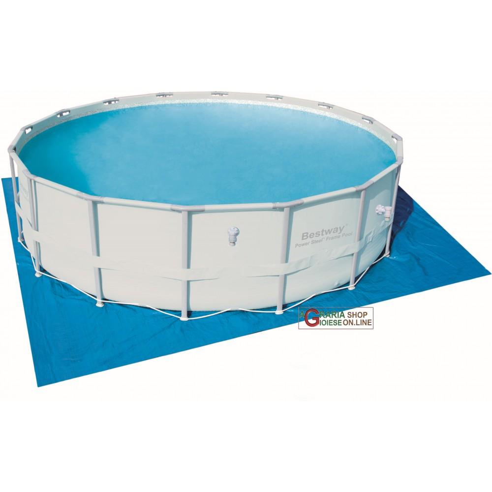 Bestway 58251 telo tappetino di base per piscina cm 488 - Tappetino per piscina ...