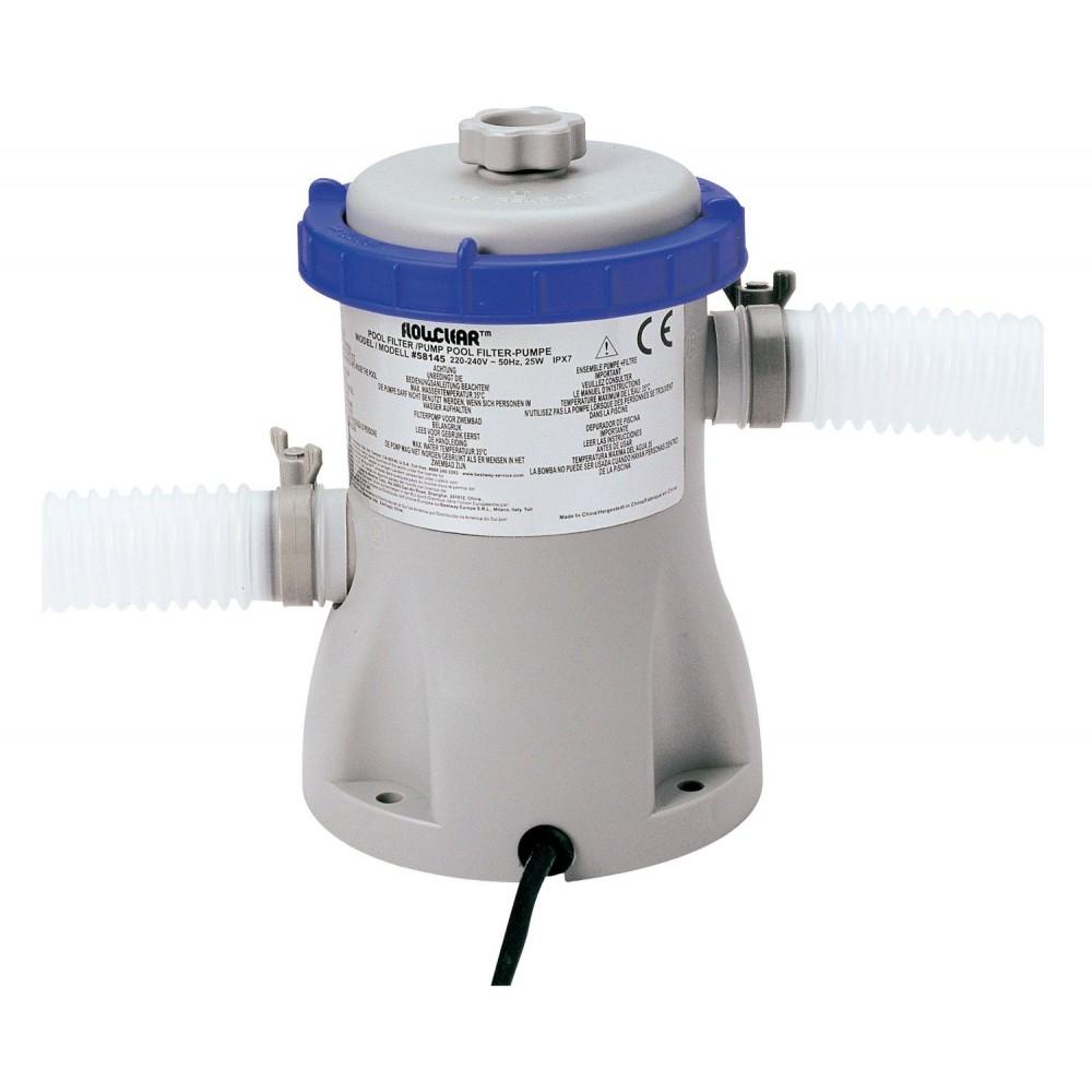 Bestway 58383 pompa filtrante per piscina con filto lt h for Filtri piscina