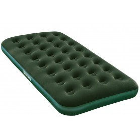 Bestway 67447 Materasso gonfiabile singolo flocculato verde