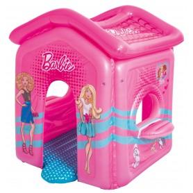 Bestway 93208 Casa di Barbie gonfiabile con fondo imbottito e