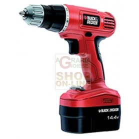 BLACK AND DECKER TRAPANO A BATTERIA 14V MOD. EPC14CA