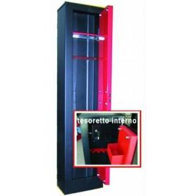 BLINKY ARMADIO PORTAFUCILI 3 POSTI CON TESORETT0 31x138x20