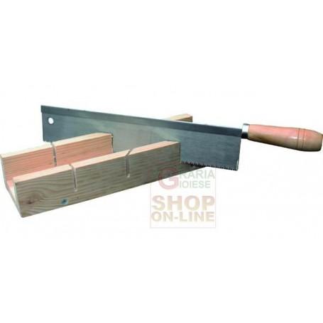 Blinky cassetta tagliacornici base legno con sega mm 300 for Ferramenta per falegnami