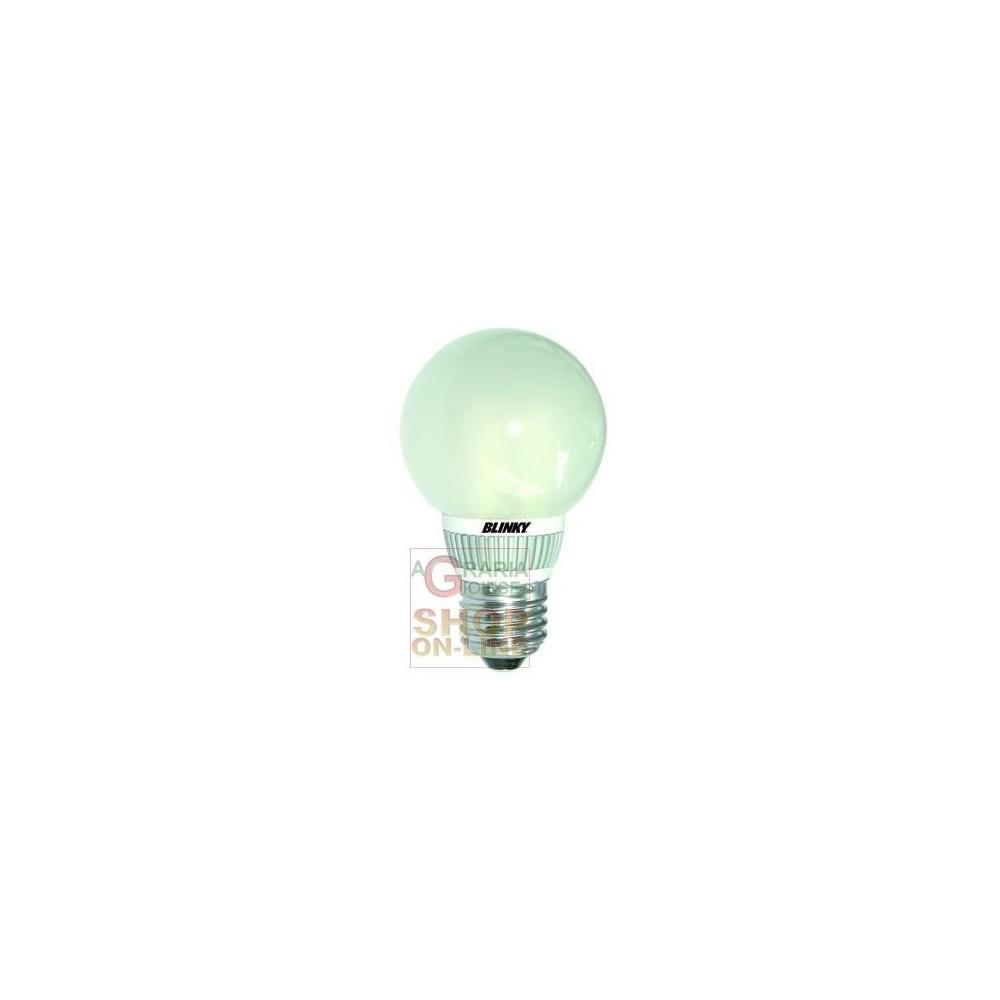 Blinky lampada a led 49 led luce calda e27 5 5w 400lm for Lampade a led e 27