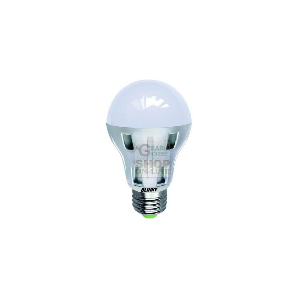 Blinky lampada a led 78 led luce bianca e27 8 0w 600lm for Luce bianca led