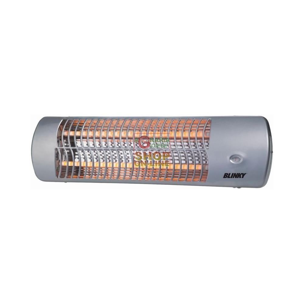 Blinky stufa al quarzo bk sq1200 per esterni watt 600 x 2 - Stufe elettriche al quarzo ...