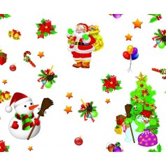 BLINKY TOVAGLIA IN PVC CHRISTMAS MT. 1,4X30