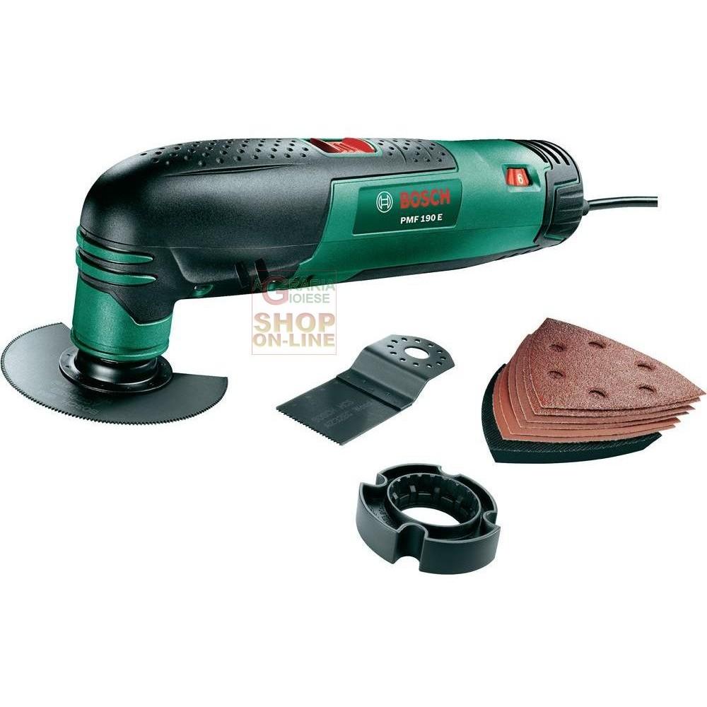 Bosch utensile multifunzione pmf 190e multi 0603100500 for Elettroutensili parkside